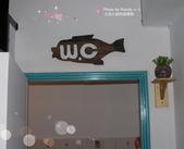 木雕教室:W.C. 廁所裝飾