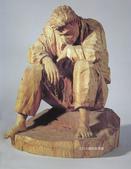 當代藝術家 ~ 詹志評的木雕作品:逃避自我的路