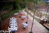 芎林飛鳳山心鮮森林休閒莊園餐廳:心鮮森林休閒莊園餐廳後餐飲區