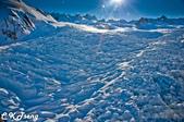 20141029紐西蘭夢幻之旅(三)瓦那卡湖與庫克山踏雪:庫克山頂冰河