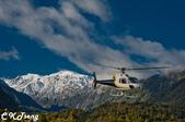 20141029紐西蘭夢幻之旅(三)瓦那卡湖與庫克山踏雪:搭載我們的直升機