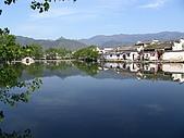 黃山徽州深度遊:宏村南湖
