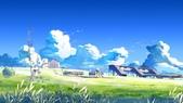 畫:雲之彼端 约定的地方.JPG