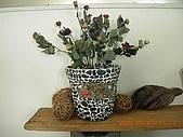 天使瘋手作:乾燥玫瑰與拼貼花盆