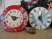 天使瘋手作:大花布時鐘&英式時鐘