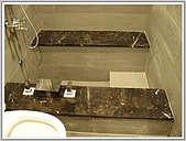 溫泉缸:降板式溫泉の缸