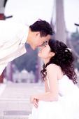 小汞&小夢婚紗照:外拍第一套--白紗(合照七)
