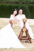 小汞&小夢婚紗照:外拍第一套--白紗(合照八)
