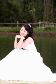 小汞&小夢婚紗照:外拍第一套--白紗(小夢獨照二)