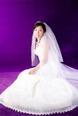 小汞&小夢婚紗照:棚內的第一套--白紗(小夢獨照三)