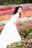 小汞&小夢婚紗照:外拍第一套--白紗(小夢獨照六)
