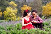 小汞&小夢婚紗照:外拍第二套--紅色晚禮服(合照一)