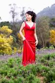 小汞&小夢婚紗照:外拍第二套--紅色晚禮服(小夢獨照一)