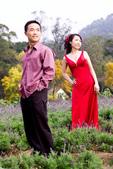 小汞&小夢婚紗照:外拍第二套--紅色晚禮服(合照二)