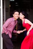 小汞&小夢婚紗照:外拍第二套--紅色晚禮服(合照四)