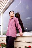 小汞&小夢婚紗照:外拍第二套--紅色晚禮服(小汞獨照一)