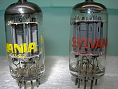 ECC82-12AU7  :Sylvania 12AU7 o-getter pair-1.1 ( Mar-11 '09 ).jpg