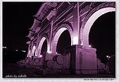 中正紀念堂夜景:ab