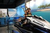 2014京阪神:神戶海洋博物館-騎水上機車.JPG
