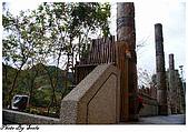20081229南庄:向天湖-湖岸咖啡外的裝飾.jpg