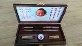 (作品集)肚臍章、胎毛筆、胎毛項鍊、胎毛印章、手鍊BABY金足印製做:嬰兒大三寶盒組