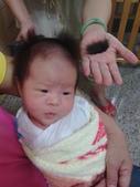 (作品集)肚臍章、胎毛筆、胎毛項鍊、胎毛印章、手鍊BABY金足印製做:台中嬰兒剃頭禮表示從頭開始