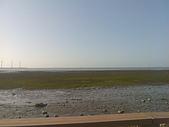 高美溼地:岸邊