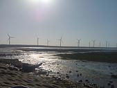高美溼地:發電風車