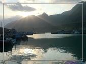 [台東東河] 金樽漁港:從雲間透出的陽光好美