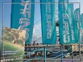 [台東東河] 金樽漁港:巧遇兩天後即將要舉辦的國際衝浪賽