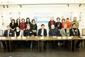 台灣現當代作家研究資料彙編23冊發表會:作家主編合影
