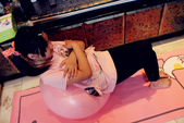 iFit 愛瘦身 抗力球抗力球+瑜珈墊 :IMG_1068.jpg