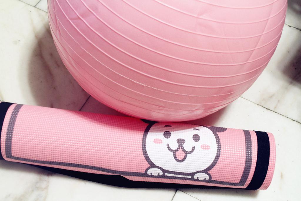 iFit 愛瘦身 抗力球抗力球+瑜珈墊 :IMG_1002.jpg