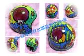 彩繪帽款~3/4半罩式復古帽~(CIRCUS.奇奇蒂蒂.小叮噹.美樂蒂各式各樣卡通風格..):1895047307.jpg