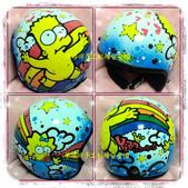 彩繪安全帽~3/4全罩式復古帽款~2(史迪奇,米奇米妮.奇奇蒂蒂,等各式各樣卡通風格):1971374570.jpg